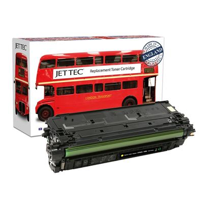 Picture of Red Bus Recycled HP 508A Yellow (CF362A) Toner Cartridge