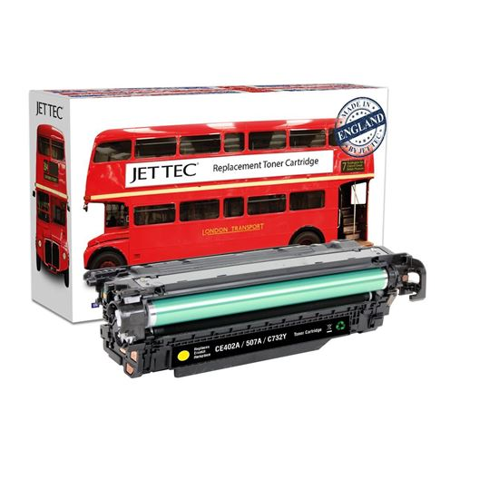 Picture of Red Bus Recycled HP 507A Yellow (CE402A) Toner Cartridge