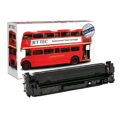 Picture of Red Bus Recycled HP 410A Yellow (CF412A) Toner Cartridge