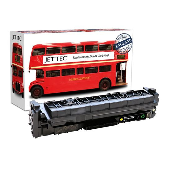 Picture of Red Bus Recycled HP 410X High Yield Yellow (CF412X) Toner Cartridge