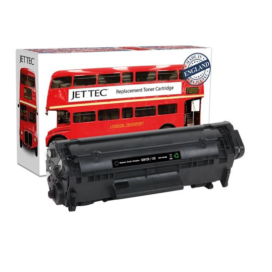 Picture of Red Bus Recycled HP 12X High Yield Black (Q2612X) Toner Cartridge