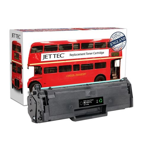 Picture of Red Bus Recycled Samsung MLT-D111L High Yield Black Toner Cartridge