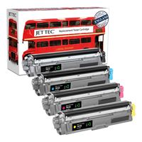 Picture of Red Bus Recycled Brother TN-241 Black, TN-245 Cyan, Magenta, Yellow Toner Cartridge Multipack
