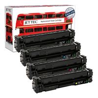 Picture of Red Bus Recycled HP 201A Black, Cyan, Magenta, Yellow (CF400/1/2/3A) Toner Cartridge Multipack