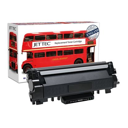 Picture of Red Bus Recycled Brother TN-2420 High Yield Black Toner Cartridge